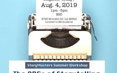 2019.08.04 The ABCs Storytelling Workshop