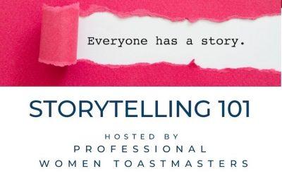 2020.09.19 Storytelling 101 Workshop